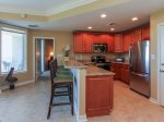 Breakfast in the kitchen offers seating for 4 in 2315 Sea Crest