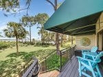Balcony with Walk Out Access to the Beach Path at 1848 Beachside Tennis