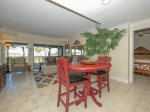 Bar Height Dining Table for Four at 1848 Beachside Tennis