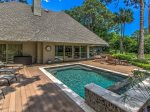 3 Marsh Island Road in Sea Pines has a phenomenal outdoor living space