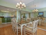 Dining Area with Ocean Views at 304 Barrington Arms