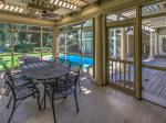 Screened Porch at 35 Heritage