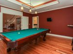 Pool Table at 35 Heritage Road