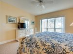 Master Bedroom with TV and Private Bath at 3206 Windsor Court South