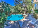 Tropical Pool and Spa at 3 Hunt Club in Palmetto Dunes