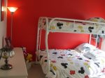 Mickey Bedroom Double bed and twin bed