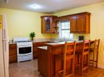 Full kitchen, plenty of space for cooking and entertaining.