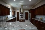 Kitchen well equipped & perfect for entertaining.