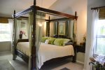 Romantic four poster kingsize master bed