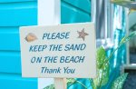 We like to keep the sand on the beach, please rinse your feet when entering the home.