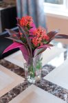 Fresh flowers on your table.