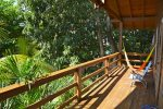 Private deck of the guest house `Tortuga`