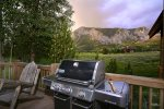 Mt Crested Butte views to grill by