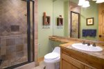 Private hot tub with down valley views of Crested Butte