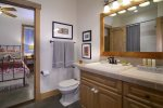 Full Bathroom on First Floor/Can be En-Suite for 2nd Queen Bed