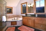 Master Bath With Oversized Tub and Dual Vanities