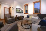 Fantastic Living Area with Flat Panel TV and Views of Mt. CB