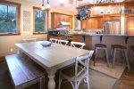 Great Farm Table for those Big Family Meals