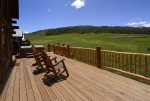 Large Deck with Expansive Views of Paradise Divide
