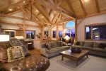 Enjoy Big Mountain Views from this Great Room