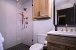 A wonderful master bedroom to lay your head after a busy day