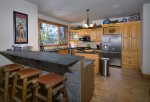 Gourmet Kitchen with Soapstone Counters