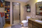 Full Bathroom Located Off the Family Room
