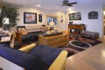 Enjoy a Friendly Game in the Family Room