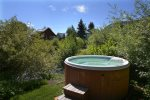 Relax After an Active Day in the Private Hot Tub