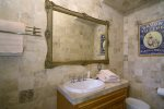 The sun room leads to the back deck