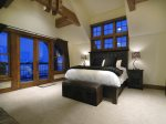 Large Master Suite with King Bed and Private Balcony