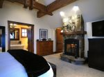 Master Suite with Gas Fireplace and Ensuite Bath