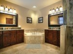 Ensuite Bath for Lower Level Jr. Master