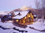 Coal Creek Cabin in Winter