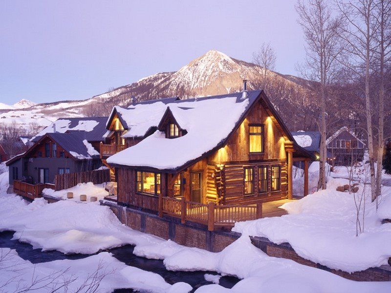 Rustic Cabin with hot tub in town l Crested Butte