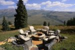 Enjoy the Views Around the Wood Fire Pit