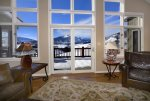 Unobstructed views of Snodgrass Mountain and Paradise Divide