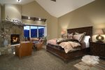 Luxurious Master Bedroom with King Bed
