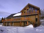 Anthracite Lodge in Winter