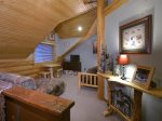 Loft with TV and Additional Sleeping for Kids