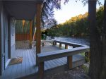 Sit for Hours on the Deck of the Hideaway Cabin