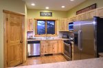 Stainless Steel Appliances and a Walk In Pantry