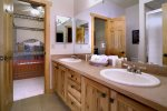 Jack and Jill Bathroom with Dual Vanities