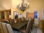 The Handcrafted Dining Room Table is Spectacular