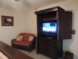 32 Flat Screen TV in Master Bedroom