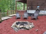 Fire Pit with Chairs