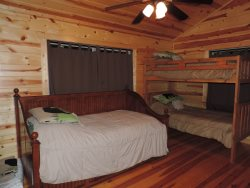 Third Bedroom with Single Bunk Beds with Day Bed and Trundle