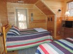 Hot Tub on the Lower Deck off the side of the House. River View.