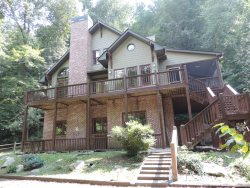 Beautiful Riverfront Brick House ON the Coosawattee River