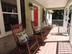 Spacious Front Porch with Rockers